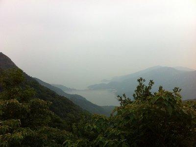 View from hike on Lantau Island