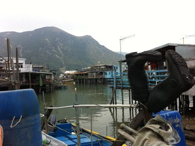 Tai O - Fishing Village on Lantau Island