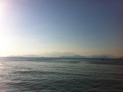 View from Lamma Island Ferry Pier - Yung Shue Wan