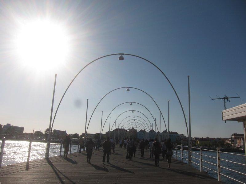 Queen Emma Swinging Pontoon Bridge