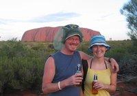Uluru us and the rock