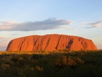 Uluru just the rock