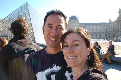 Us at the Louvre