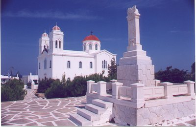 Church and Monument - Naoussa