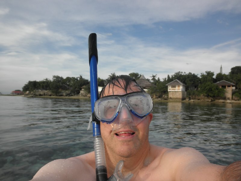 Self Portrait Snorkeling