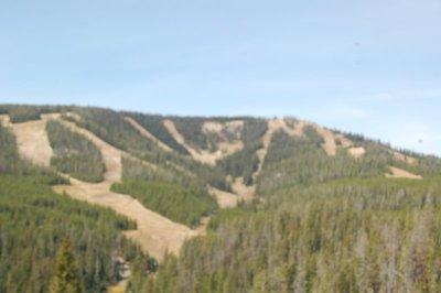 Montana skiing area