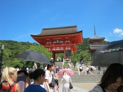 Kiyomizu-dera Front View