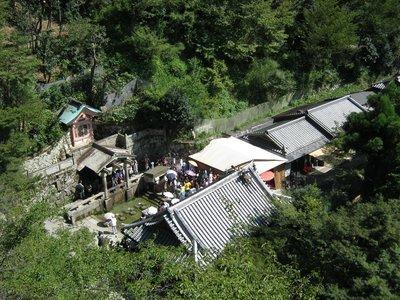 kiyomizu-dera from stage