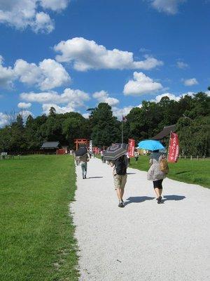 kamigamo main path