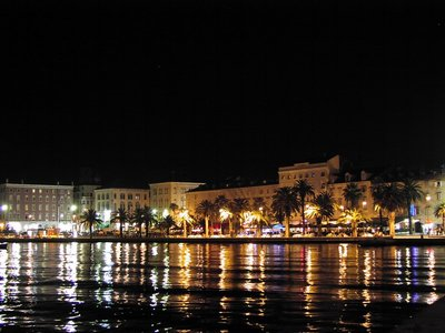 Night in Split