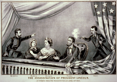 Abraham Lincoln at Ford's Theater