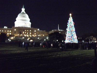 Christmas comes to the Capitol