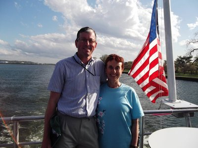 Cherry Blossom cruise on the Potomac