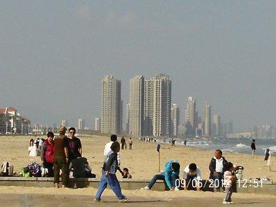 Yantai beach (again)