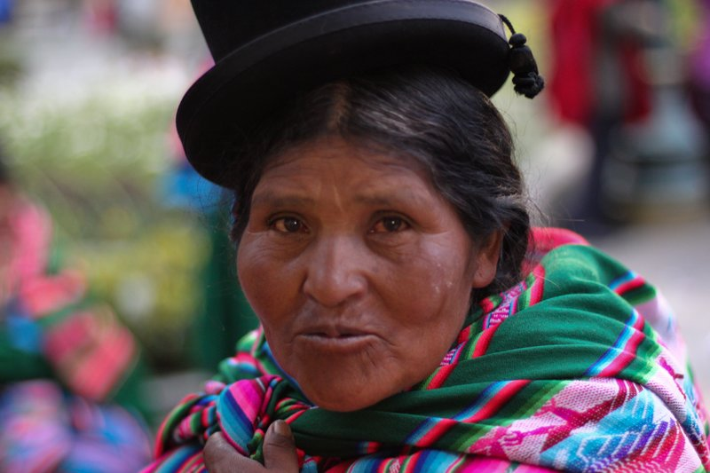 Bolivian Candid
