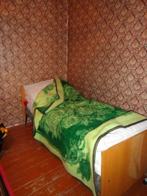 Typical Bed in Guest House