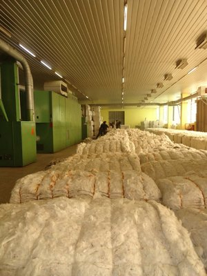 Preparing Cotton Roving 1
