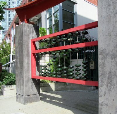 Abacus Public Art in Chinatown