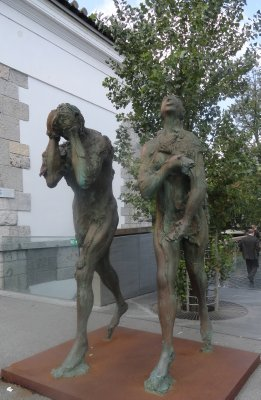 Adam and Eve Exiled
