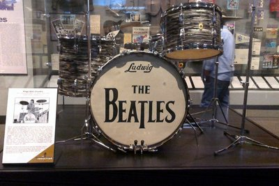 An Early Ringo Drum Kit