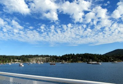 Approaching Brentwood Bay
