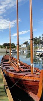 Authentic Replica of Spanish Boat
