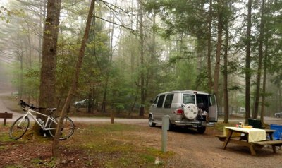 Back in the Campground
