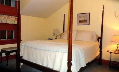 Bedroom in Rochester Inn Suite