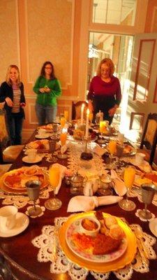Best Breakfast Table in Vicksburg