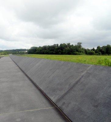 Black Granite Walkway