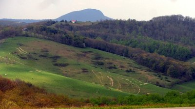 Blue Ridge Scene