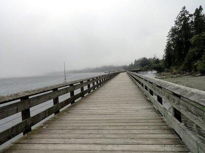 Boardwalk Along Sooke Harbour