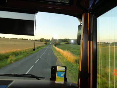 Bus Ride Through the French Farm Country