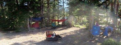 Campsite Ready for Company
