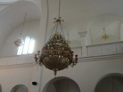 Chandelier in Duress Mosque
