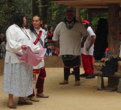 Cherokee Dancers 2