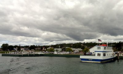 Cloudy Day from St Ignace