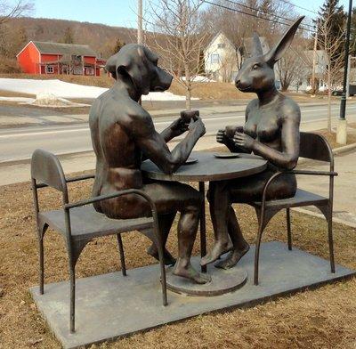 Coffeeshop Sculpture