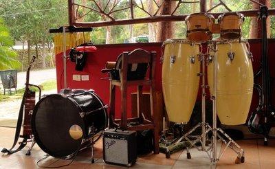 Cuban Percussion Set