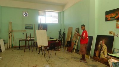 Art School Classroom