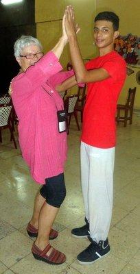 Dancing Cutumba