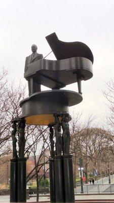 Duke Ellington in Central Park