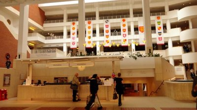 Entry Lobby of the British Library