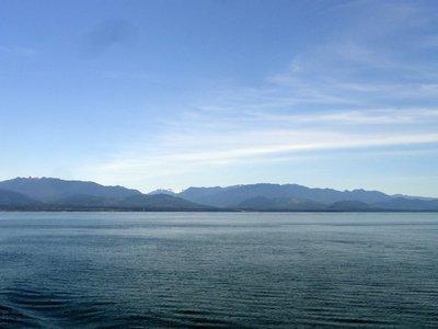 Ferrying Across de Fuca