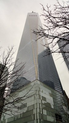 First Completed WTC Tower