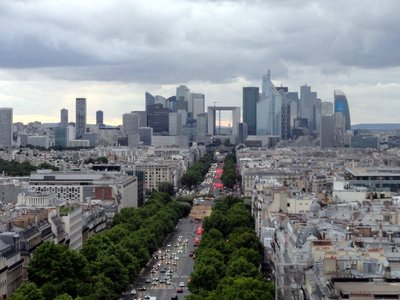 From Arc de Triumphe to Arche de Defense