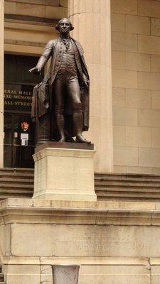 GW at Federal Hall
