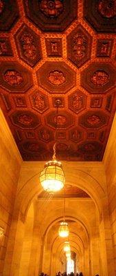 Hallway in NYPL