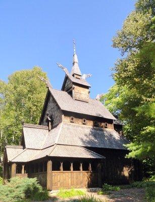 Handbuilt Scandinavian Lutheran Church