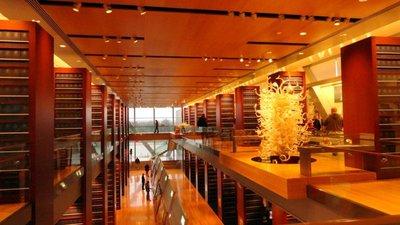Inside the Presidential Center